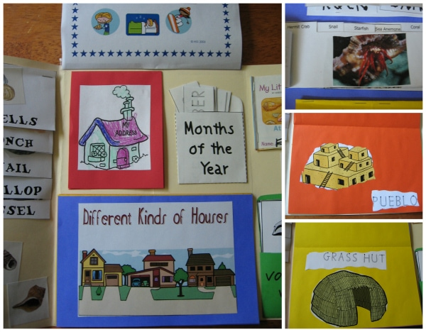 A House for Hermit Crab Lapbook from Walking by the Way