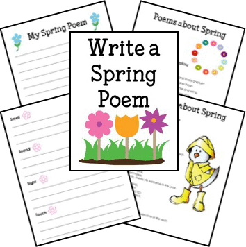 Help Your Child Write an Easy Spring Poem from Walking by the Way