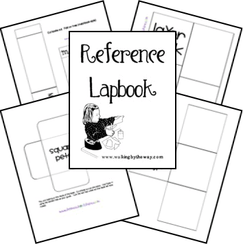 Free Reference Lapbook from Walking by the Way