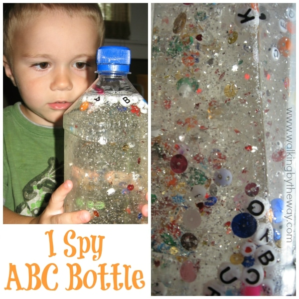 I Spy Alphabet Bottle Craft from Walking by the Way