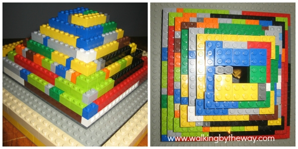 Build a Ziggurat out of LEGO bricks