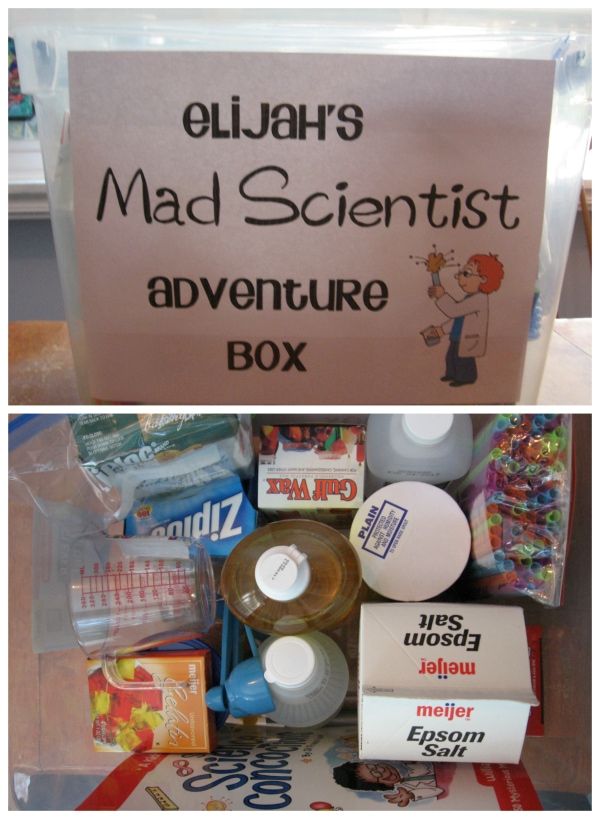Elementary Chemistry: Mad Science! Homeschool fun from Walking by the Way