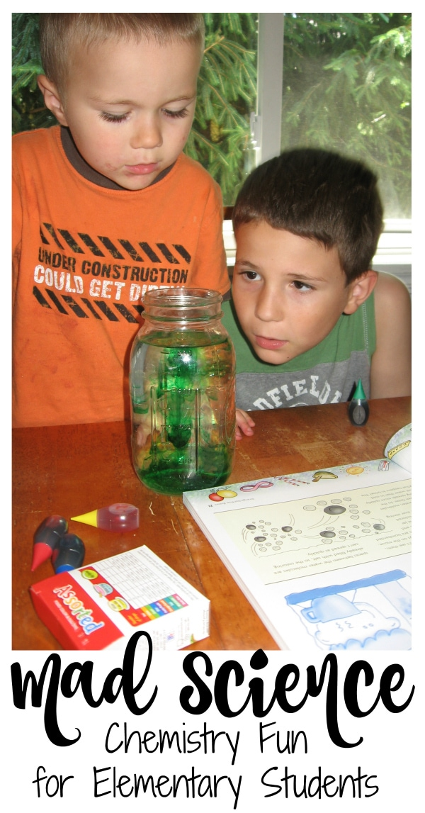 Chemistry Fun for Homeschool from Walking by the Way