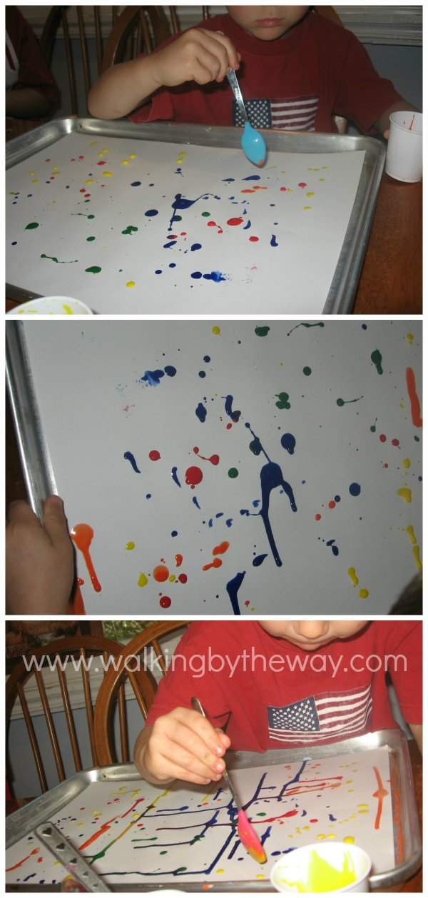 Runaway Art Preschool Process Art Activity