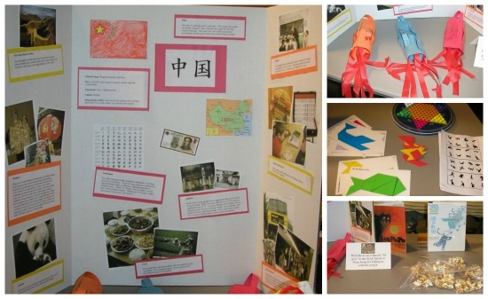 China Geography Fair Display