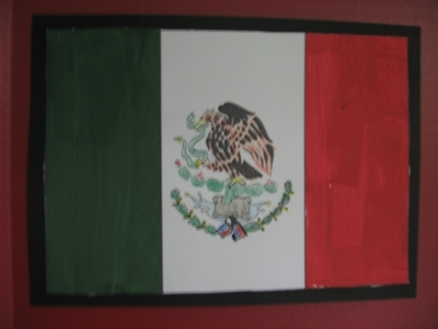 Flag of Mexico Geography Fair Project