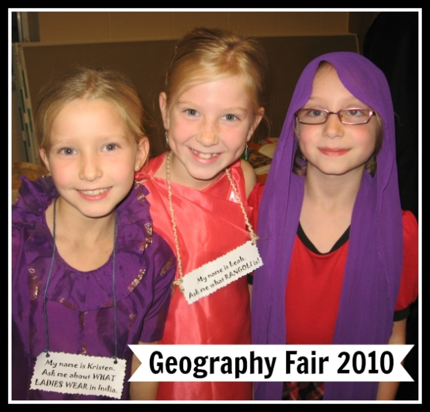 Geography Fair 2010 Displays; great ideas for hands-on geography projects!