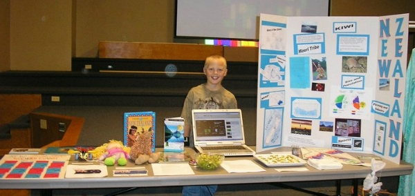 New Zealand Geography Fair Project