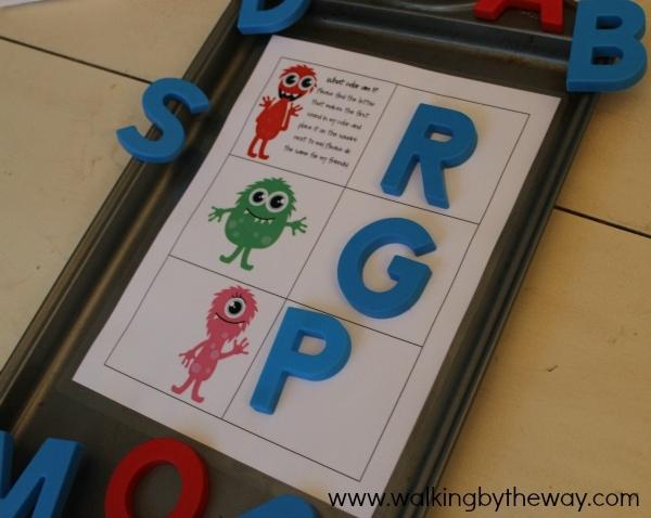 Monster Mash Kindergarten Kit -- Beginning Sounds