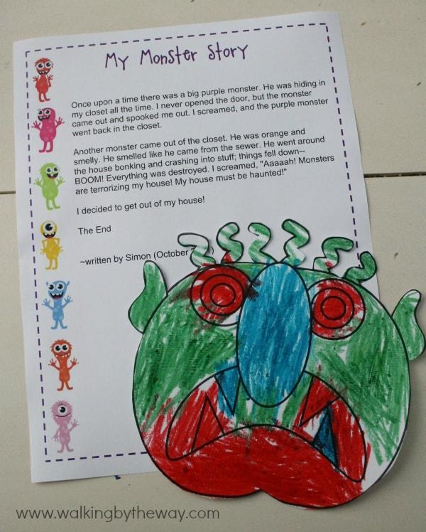 Monster Mash Kindergarten Kit -- My Monster Story