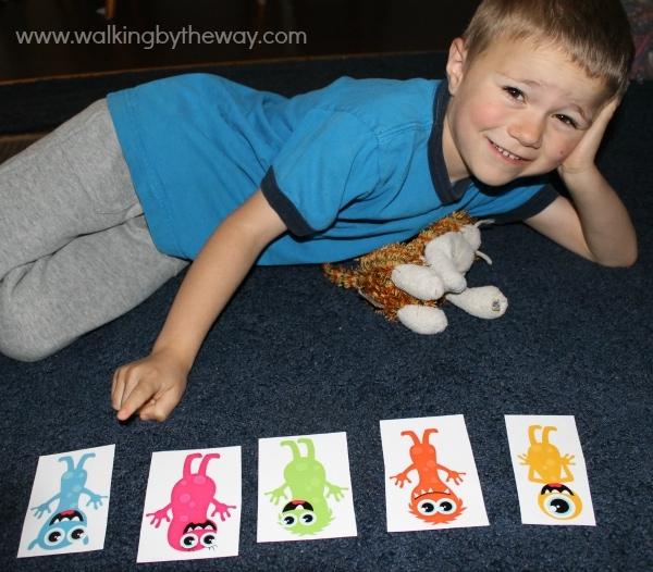 Monster Mash Kindergarten Kit -- Ordinal Numbers Game