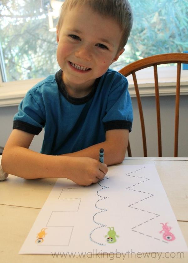 Monster Mash Kindergarten Kit -- Tracing