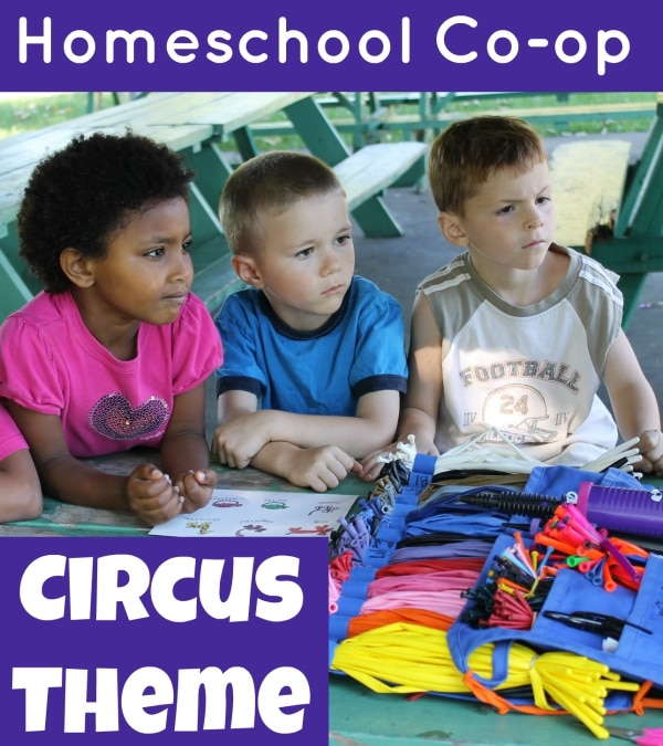 Homeschool Co-op Circus Theme for Mirette on the High Wire