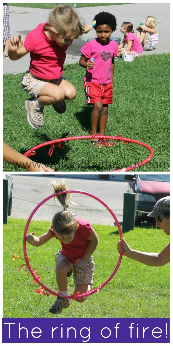 Circus Theme Learning and Fun Activities: Jump Through the Flaming Ring of Fire!
