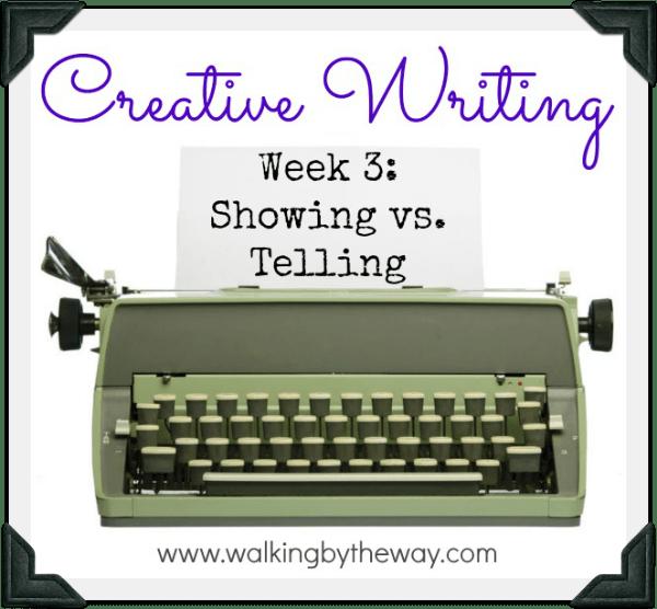 Creative Writing Lesson Plan Week 3