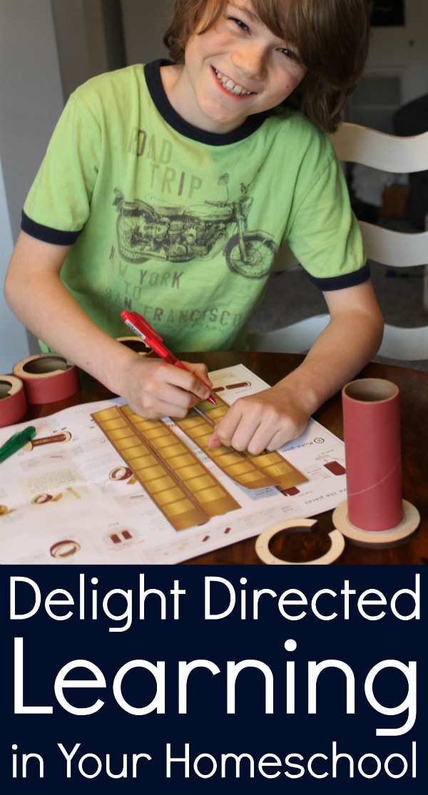 Delight Directed Learning in Your Homeschool from Walking by the Way