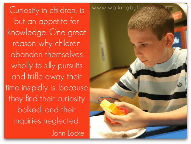 Inquisitive and Quizzed: Using Questions to Cultivate Curiosity in Your Kids from Walking by the Way