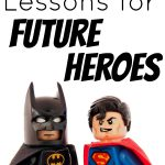 Copywork Lessons for Future Heroes