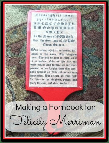 Felicity Craft: Hornbook
