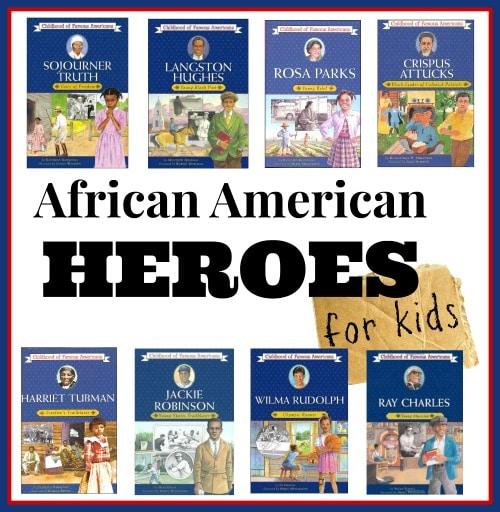 African American Heroes for Kids