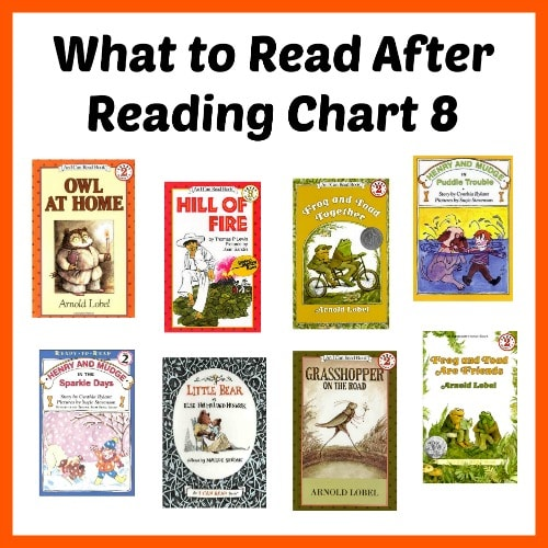 What to Read After Reading Chart 8