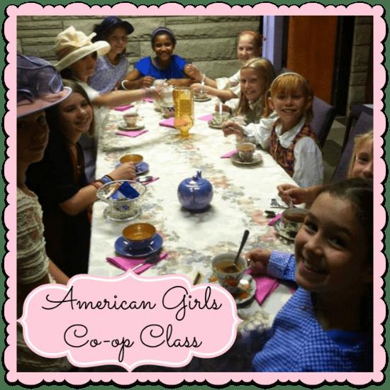 American Girls Homeschool Co-op Class