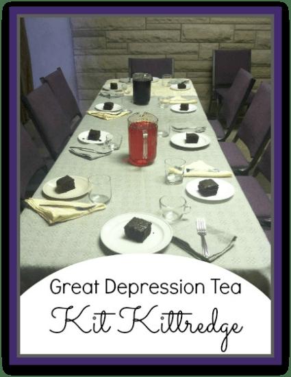 American Girl Class: Kit's Tea