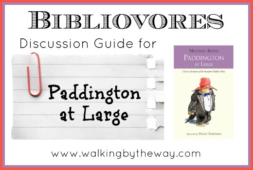 Paddington at Large  Discussion Guide