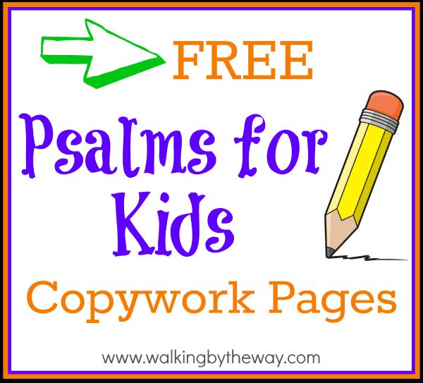 psalms-copywork