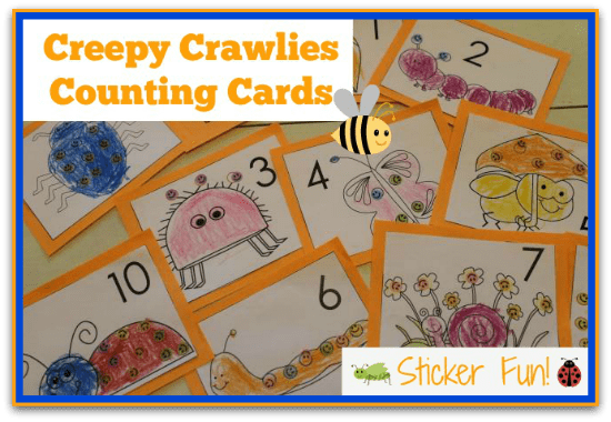 Creepy Crawly Counting Cards