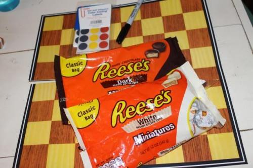 Chocolate Checkers Supplies Needed