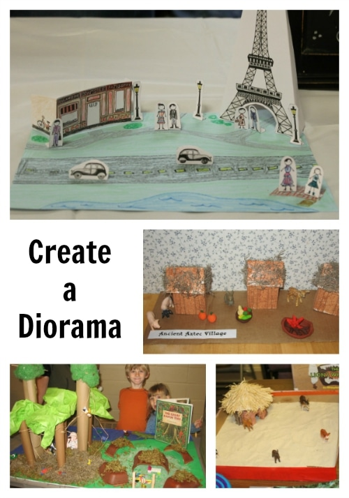 Construct a Diorama or Scene for Your Geography Fair Project