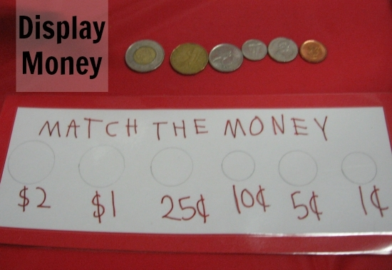 Display Coins with Your Geography Fair Project