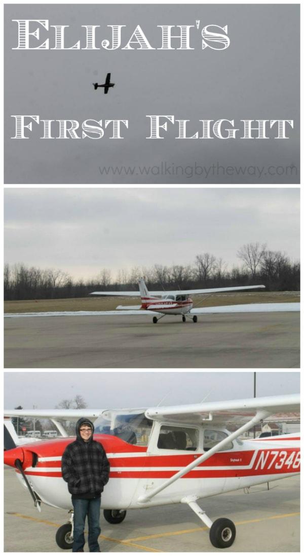 7th Grade Delight Directed Education: Elijah's First Flight