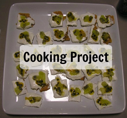 Geography Fair Display Ideas - Cooking Project