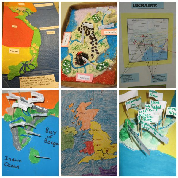 geography project ideas