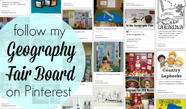 Geography Fair Pinterest Board