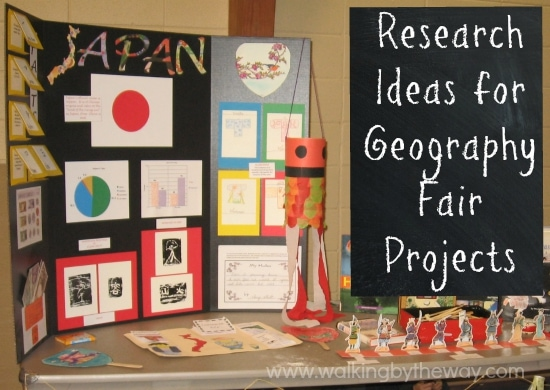 Research Ideas For Your Geography Fair Project Walking