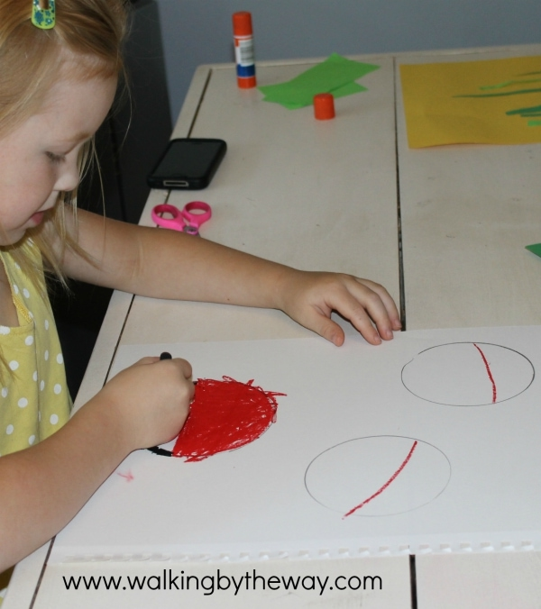 Art Project for The Grouchy Ladybug