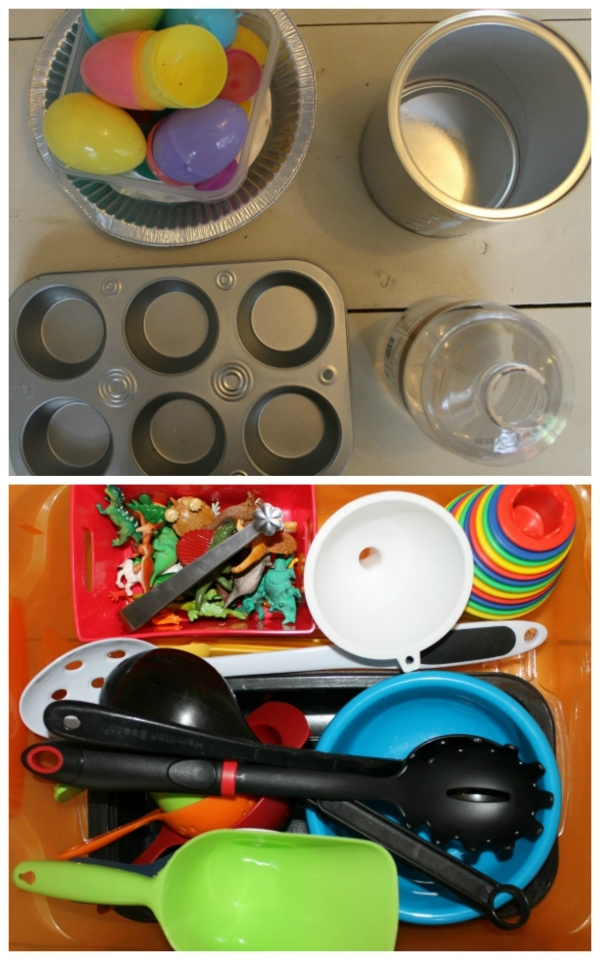 Add-in Options for Super Simple Sensory Boxes