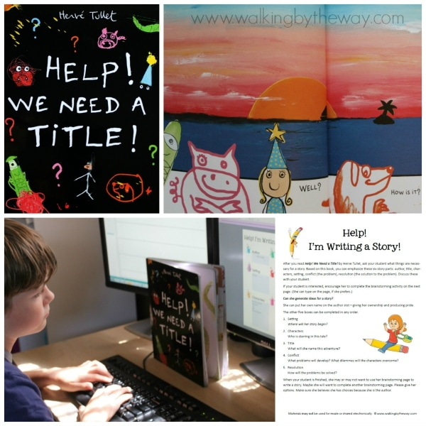 Help! We Need a Title! (Candlewick Press) Writing Activity from Walking by the Way