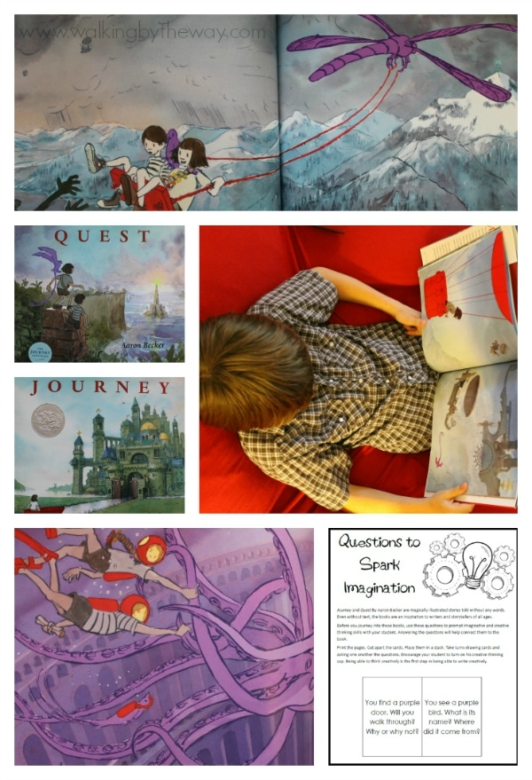 Writing Activity inspired by the books The Journey and The Quest by Aaron Becker