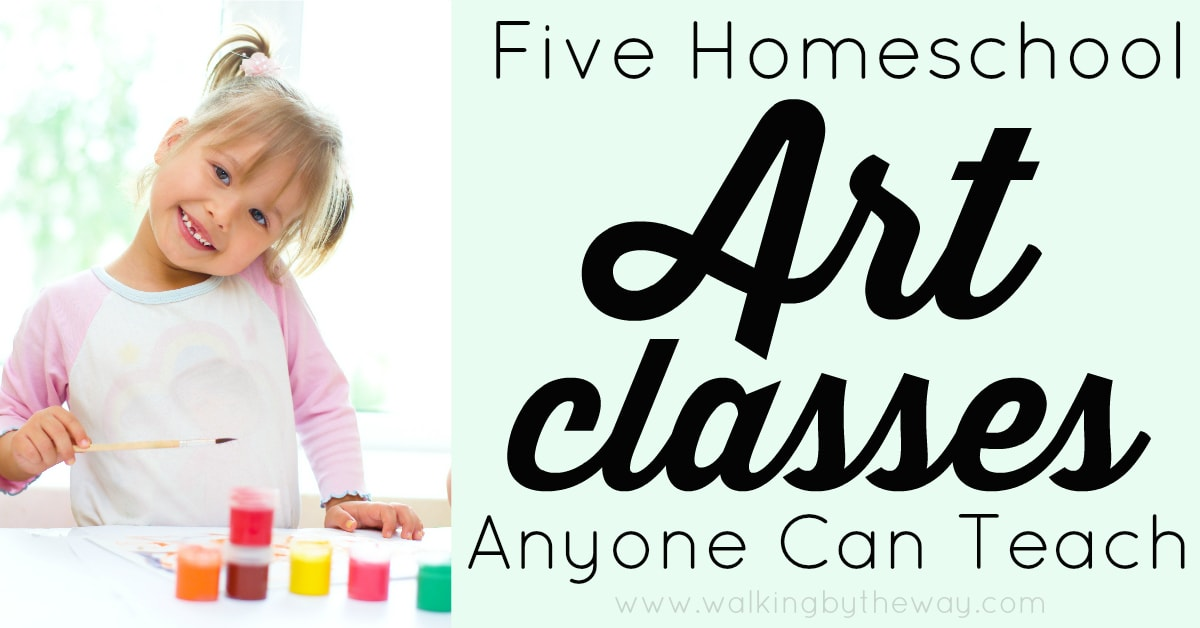 how to teach art classes from home