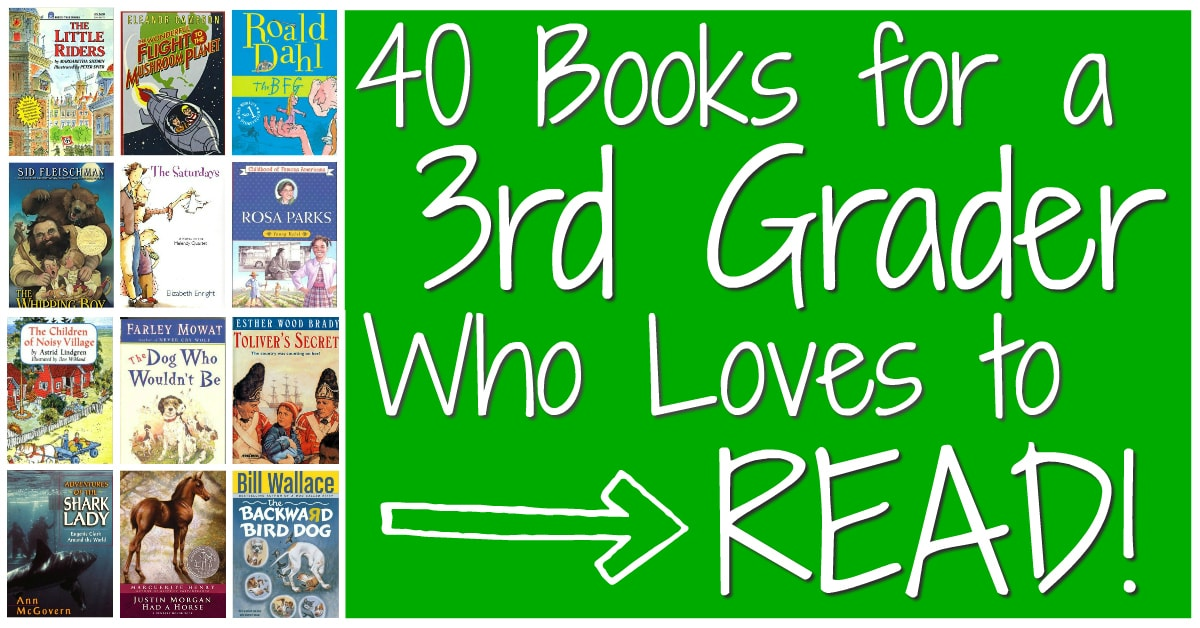 40 Books For A 3rd Grader Who Loves To Read Walking By The Way