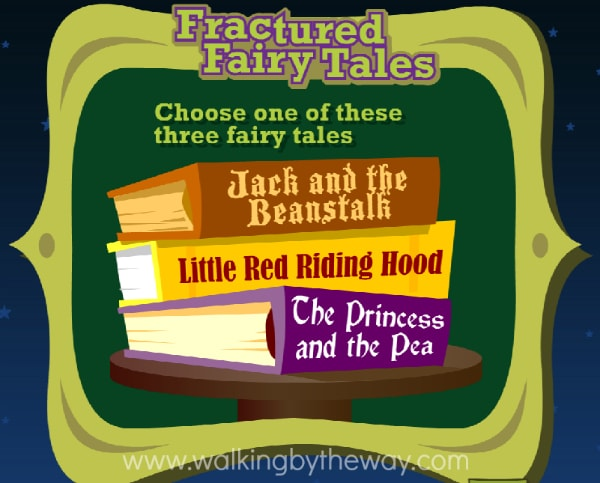 Inspire Your Writer with ReadWriteThink's Fractured Fairy Tale Interactive