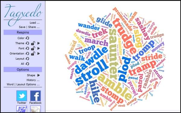 Fun Writing Activities with Tagxedo