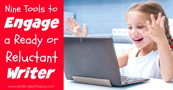 9 web interactive apps that will excite your homeschool student about writing!
