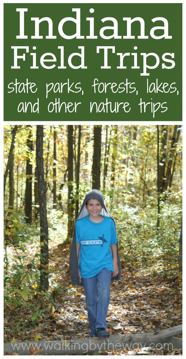Indiana Field Trips state parks, forests, and lakes + other nature field trip ideas from Walking by the Way