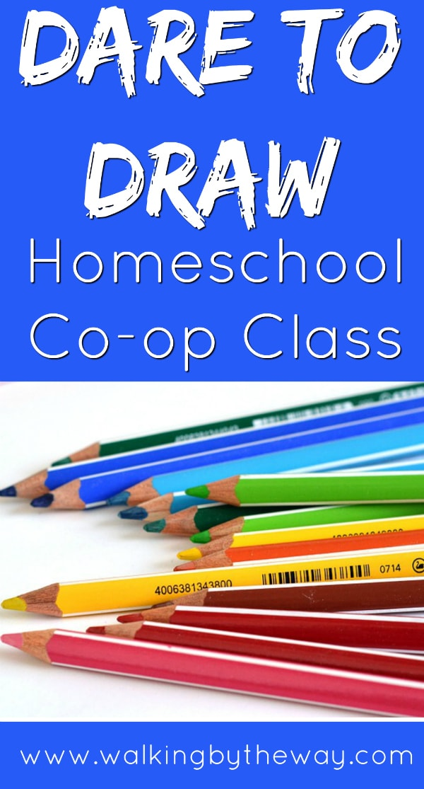 art lessons for kids at your homeschool co-op