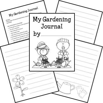 Download a FREE My Gardening Journal from Walking by the Way